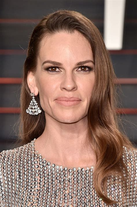 Hilary Swank W Covergirl by The Best Looks From Oscars After