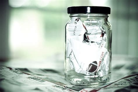 How To Make A Paper Jar - the wholesome home glass jar odor