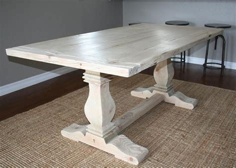 Tables Made From Reclaimed Wood Custom Reclaimed Wood Trestle Table By Santini Woodwork