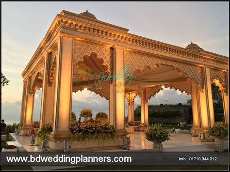 Wedding & Reception Stage Decor   BD Event Management