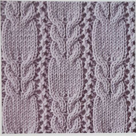 how to do lace knitting cables and lace knit stitch knitting kingdom