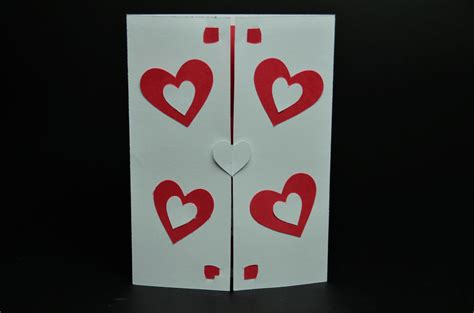 twisting hearts pop up card template twisting hearts pop up card template