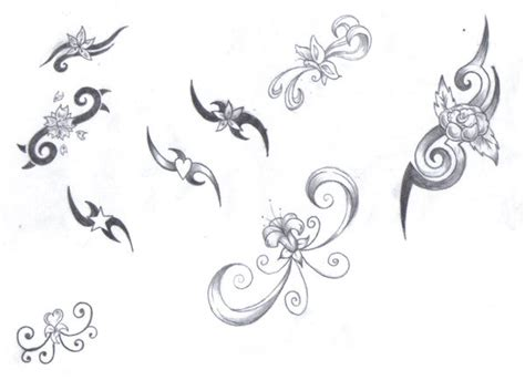 Girly Pattern Tattoo Designs | girly tribal designs by lbalch86 on deviantart
