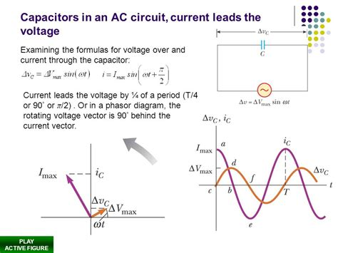 capacitor resistance voltage alternating current ac r l c in ac circuits ppt