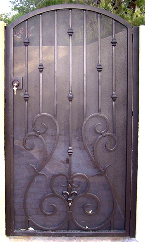 Screen Gate Door by Wrought Iron Special Exclusively By Iron Wrought