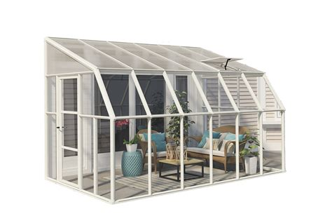 greenhouse sunroom rion sun room 8x12 lean to greenhouse polycarbonate