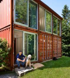 Backyard Cabins Victoria Old Lady Shipping Container House Is A Modern Masterpiece