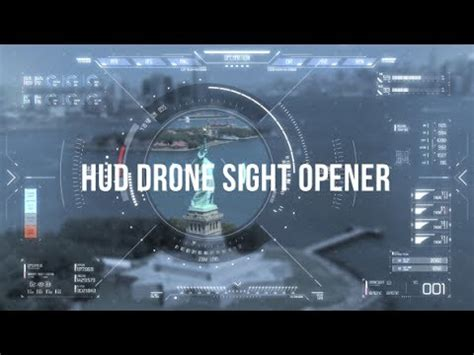 After Effects Templates Hud Drone Sight Opener Youtube After Effects Drone Template