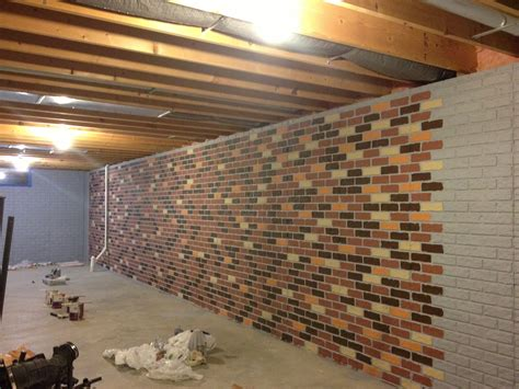 painting cement basement walls the seams on a sted concrete wall disappear when the