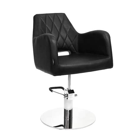 Black Salon Chairs by Glammar Amanda Salon Chair Black Amr