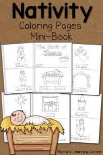 Nativity coloring pages mamas learning corner memes