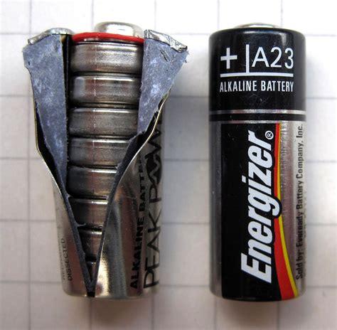 Baterai A2312v Alkaline Energizer a23 pil vikipedi