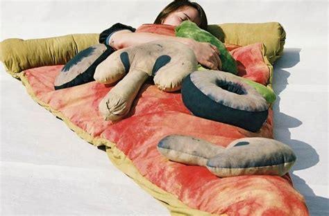 pizza slice bed foodista pizza slice sleeping bag