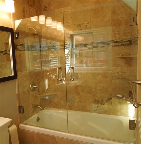 Bath And Shower Doors Bathtub Shower Enclosures Doble Tub Door Inspiration And Design Ideas For House Bathtub