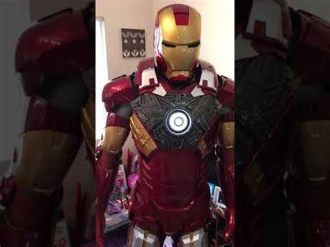 ironman armor wearable mk costume cosplay iron man