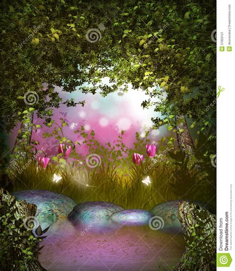 time and the garden encountering the magical in the and works of j b priestley books l and tulips in a magical garden stock image image