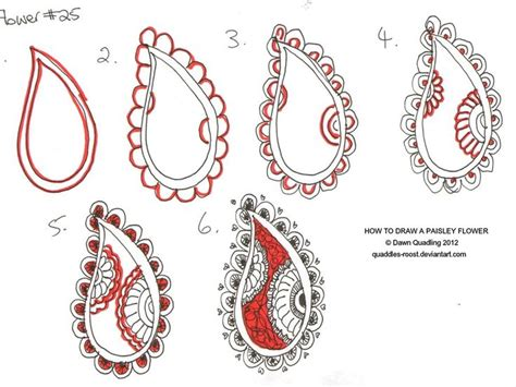 paisley pattern drawing 648 best zentangle patterns images on pinterest