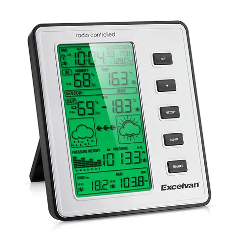 wireless weather station temperature humidity barometer