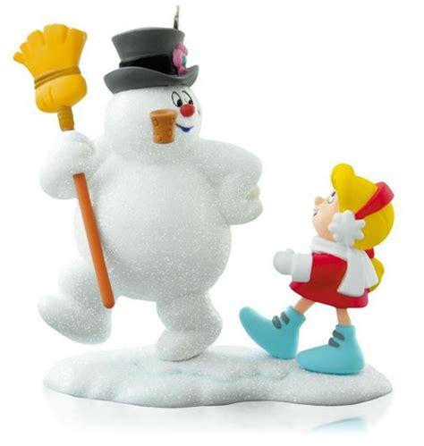 hallmark ornaments 2014 2014 frosty the snowman parade hallmark ornament hooked