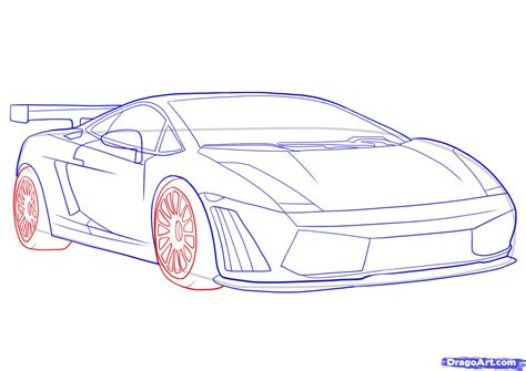 lamborghini drawing how to draw a lamborghini step by step cars draw cars