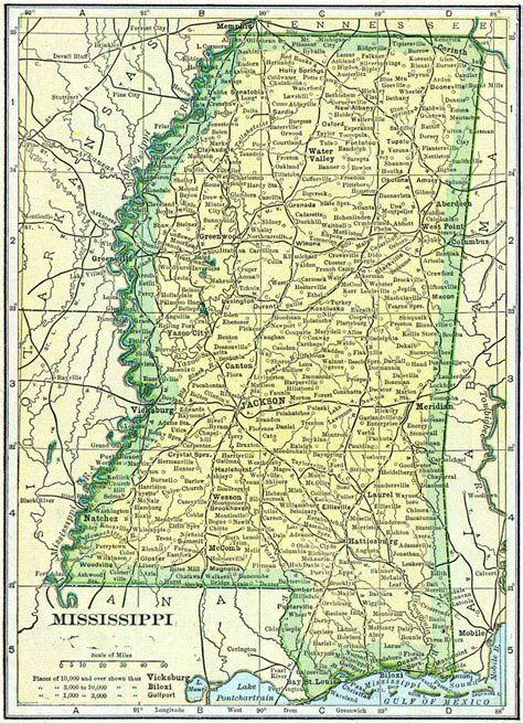 Mississippi Records Free 1910 Mississippi Census Map Access Genealogy