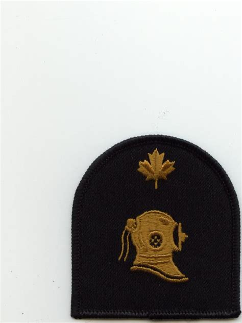 boatswain canadian forces official badges of the canadian navy