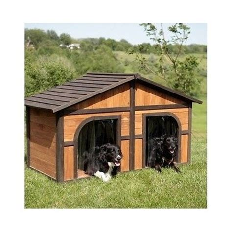 dog house duplex duplex dog house extra large doghouse outdoor xl double