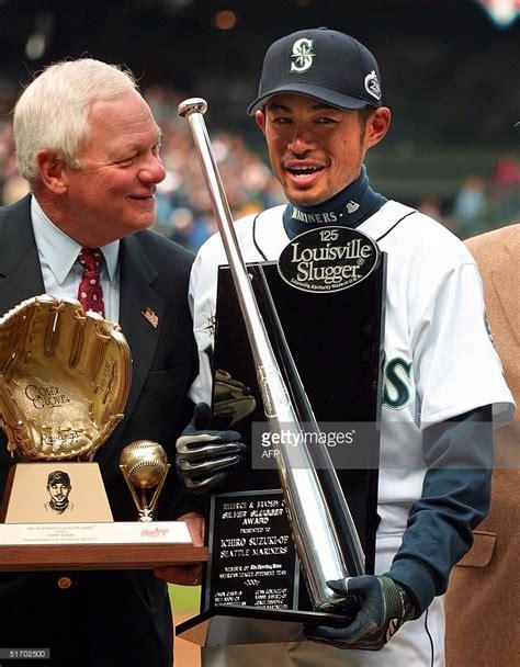 Ichiro Suzuki 2001 Lot Detail 2001 Ichiro Suzuki Rawlings Gold Glove Award