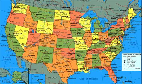 maps of the united states for map of the unitedstates1