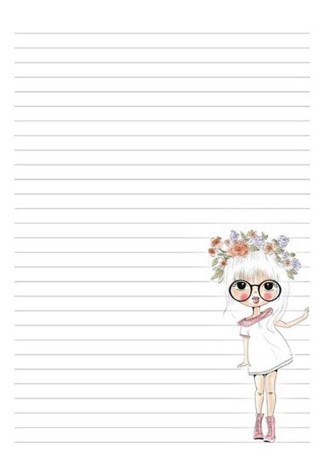 free cute printable notebook paper 271 best pretty paper lined images on pinterest letters
