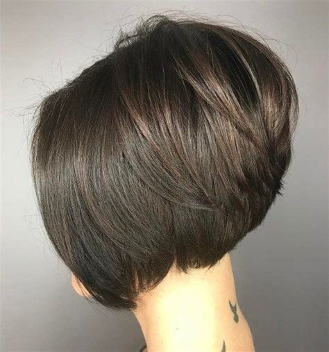 short bob with shorter layers at crown 445 best angled stacked bobs images on pinterest hair