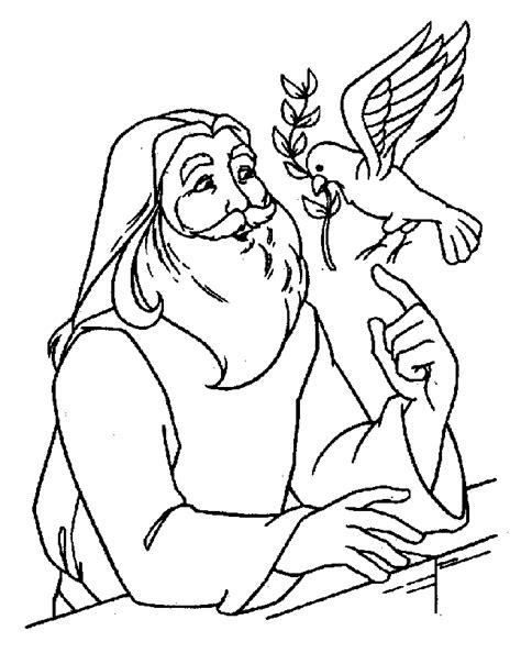noah coloring page free coloring pages of noah