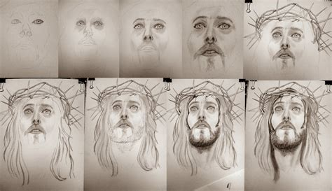 dibujos a lapiz de cristo dibujos a lapiz retratos realistas y dibujos robert powell dibujo a lapiz