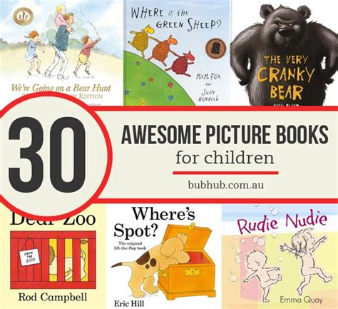 best picture book authors 30 of the best picture books for children bub hub