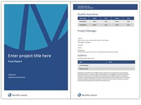 Free Microsoft Word Report Templates Word Report Templates Anuvrat Info