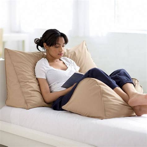 best bed reading pillow 12 best reading pillows for your bed images on pinterest