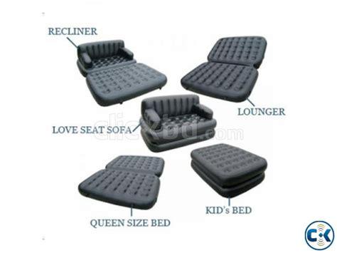 Air O Space Sofa Bed 5 in 1 air o space sofa bed intact box clickbd