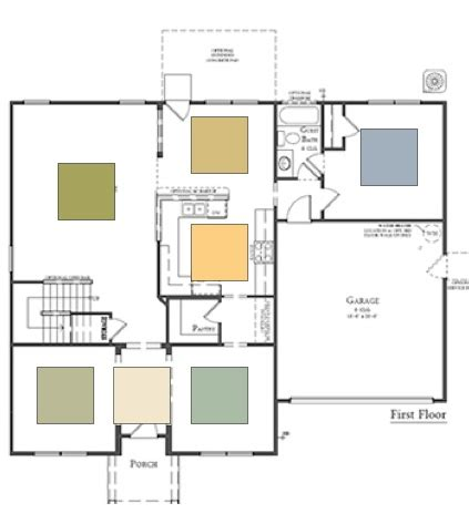 paint color schemes for open floor plans paint color for an open floor plan decorating by donna