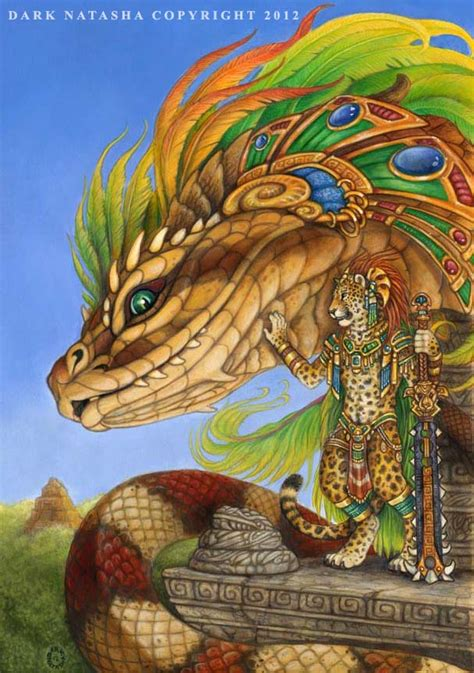 imagenes de paisajes aztecas the return of quetzalcoatl by darknatasha on deviantart