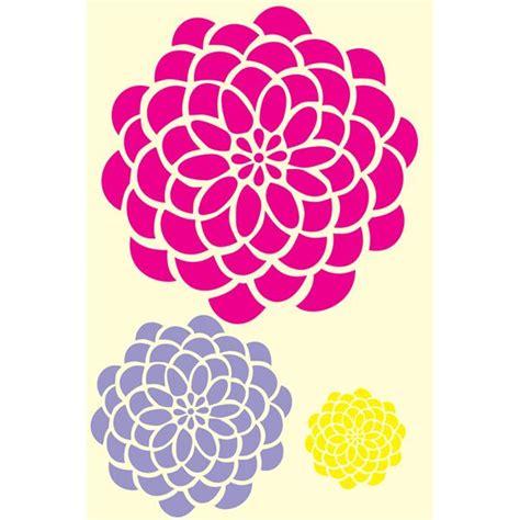 flower stencil template 18 best stencils images on flower stencils