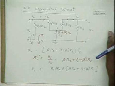 transistor lifier small signal analysis rvr be 23 bjt small signal analysis