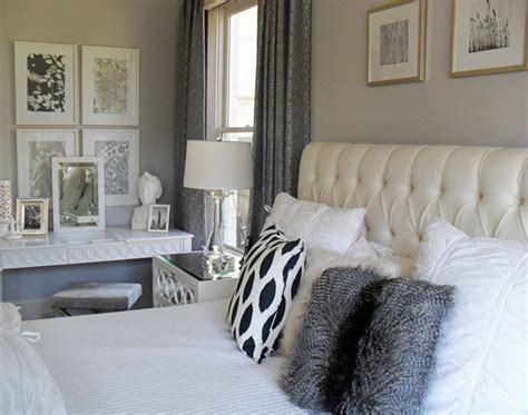 grey white and silver bedroom ideas current project transforming a neutral master bedroom