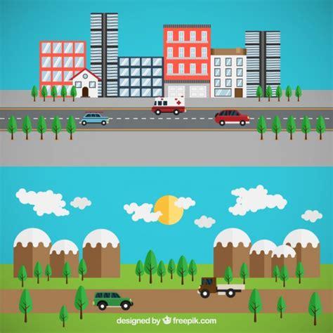imagenes de zonas urbanas para niños 191 cu 225 l es la diferencia entre rural y urbano bien explicado