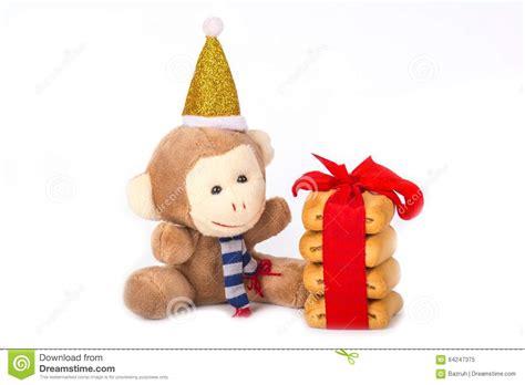 new year monkey cookies monkey and cookies stock photo image 64247375