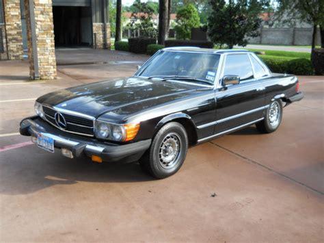 Mercedes 380sl Convertible Mercedes 380sl Convertible Black For Sale Photos