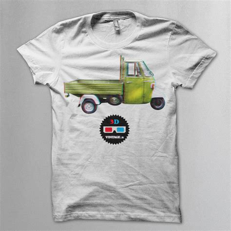 T Shirt Europe Truck Abu Abu ape truck 3d t shirt 2ruote collection vintage t