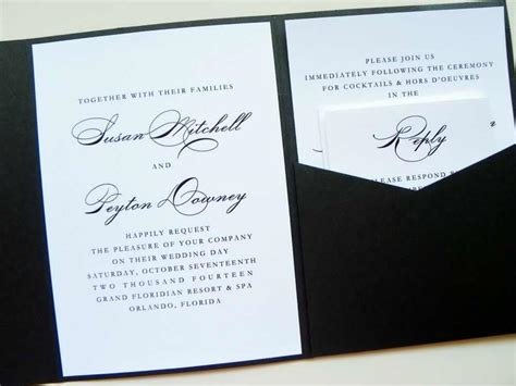 cards and pockets wedding template pocket fold wedding invitations cheap cards wedding