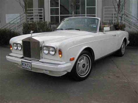 corniche rolls royce for sale 1986 rolls royce corniche for sale on classiccars 3