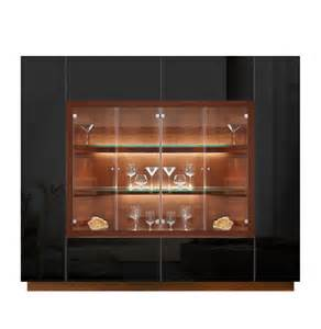 Display Cabinet Modern Jamison Display Cabinet Modern Glass Curio Concealed