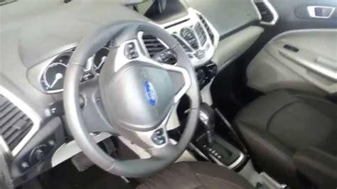 2014 ford ecosport interior interior ford ecosport 2014 video versi 243 n colombia youtube